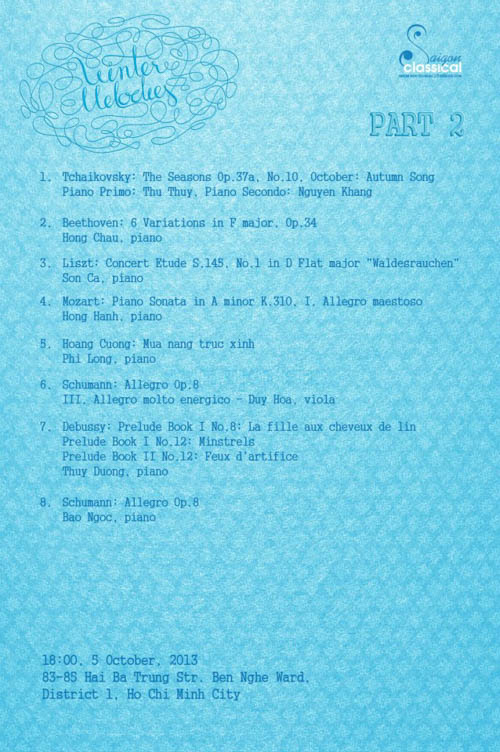 2013.10.05. Winter Melodies 3