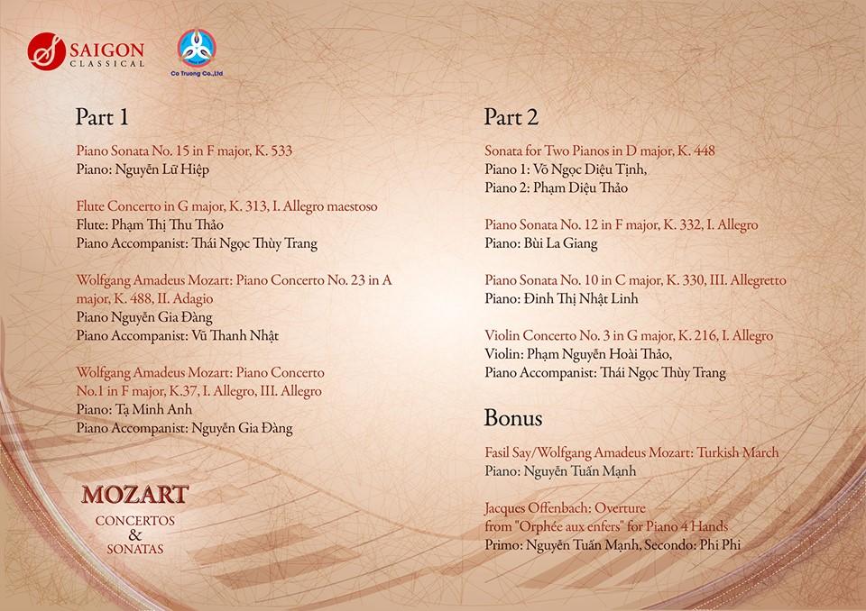 Mozart Concertos & Sonatas (3)